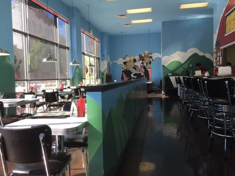 Moo Moo's Downtown Interior