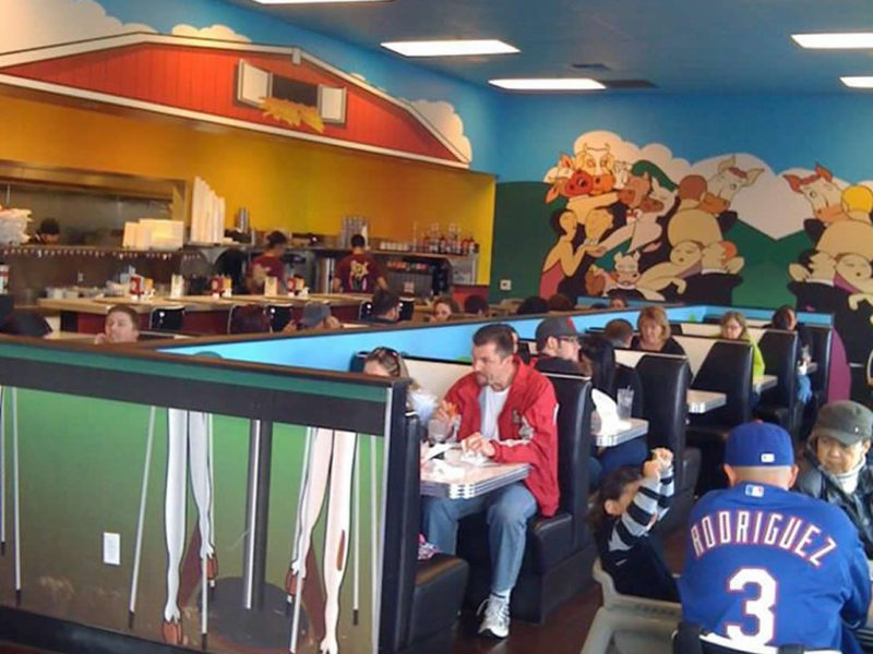 Moo Park West Location - Lunch Crowd