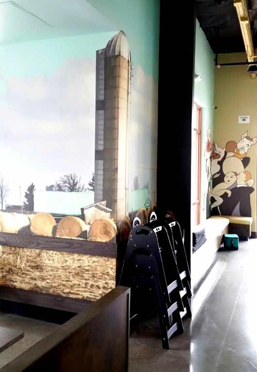 Silo Wall Mural - Rocklin CA