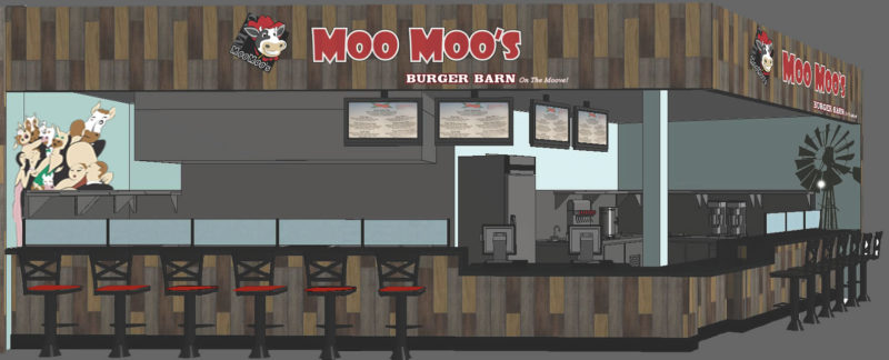 Moo Moo's at West Valley Mall-Rendering